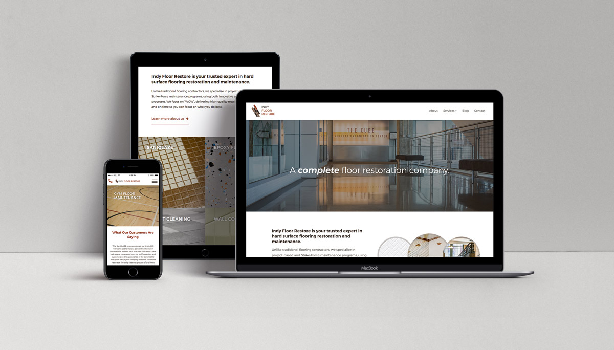 Client Spotlight: Web Design 'From the Floor Up'